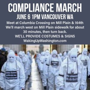 Compliance March Against Authoritarian Governments