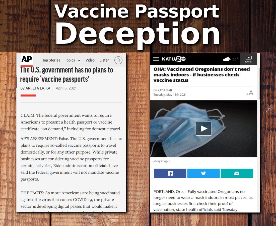 Vaccine Passports Are Here